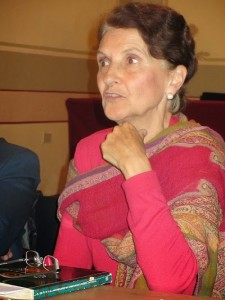 Montserrat Gal_ a la taula rodona L'exili catal_ a M_xic (Puebla)